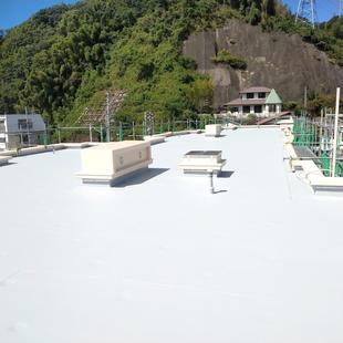 マンションの大規模リフォーム(屋上防水)