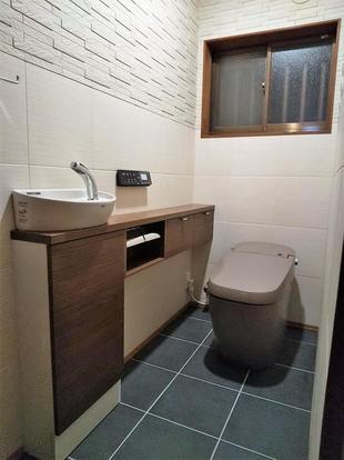 こだわりのトイレ空間