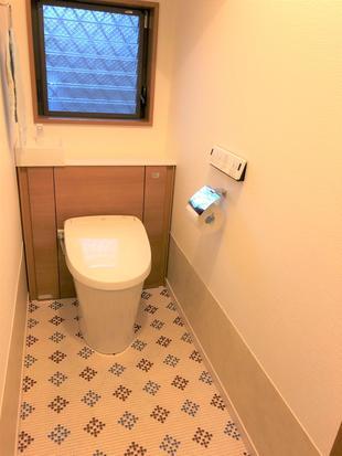 《トイレ》トイレをリフォレに交換。見映えもいいリラックス空間に!