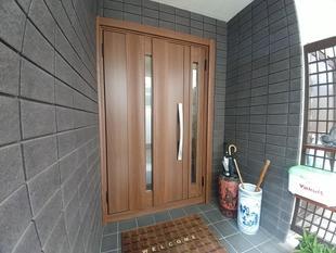 【玄関ドア】LIXILリシェントG12型 断熱仕様(東京都杉並区)