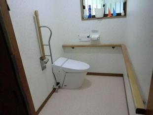 出水市 高齢者用トイレをより便利に