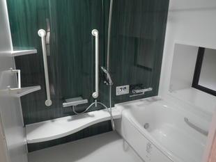出水市 浴室改修(手摺り付)しました!