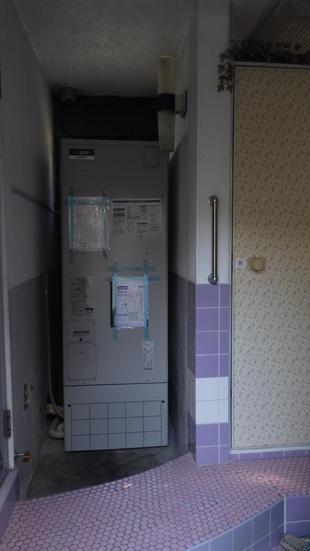 電気温水器 設置工事