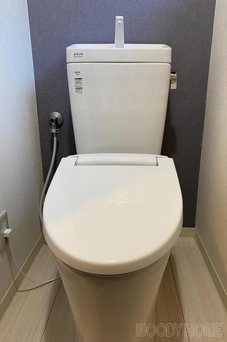 アクアセラミックで汚れがつきにくいトイレ
