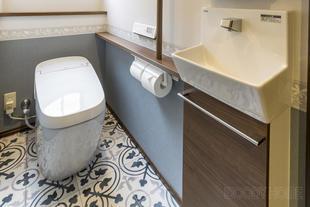 千葉市中央区 お洒落感に使用感も最高!リフォームでイメージ通りのトイレ造り