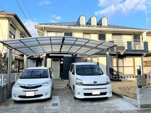千葉市中央区 ブルーが映える外観に!高耐久の屋根外壁塗装