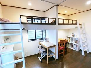 スペースを有効活用した子ども部屋のリフォーム事例
