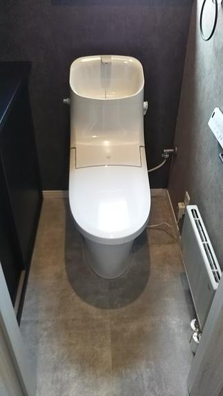 もちろんトイレもリフォームです