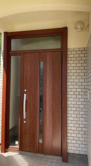 福岡市西区~玄関ドア~