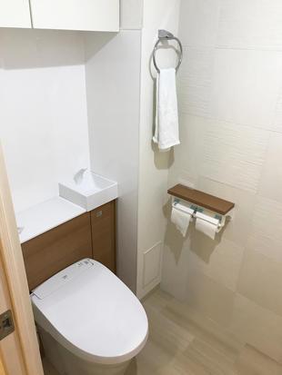 清潔感のあるトイレにリフォーム