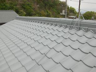 屋根瓦塗装工事